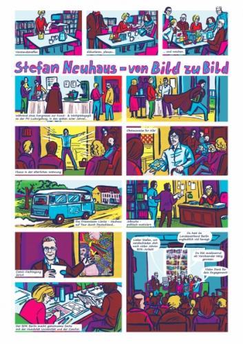 """Comic als Geschenk für """"Stefan"""", 2017"""